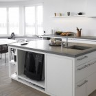 Modern White Kitchen 20th Century