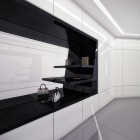 Modern White and Black Closet Design by Geometrix