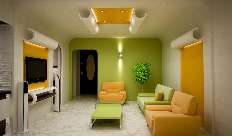 Modern and Colorfully Living Rooms Inspiration 2011 - Living Room ...