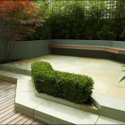 Modern and Beautiful Patio Fenced Garden