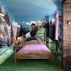 Mountain Valley Farms Themed Bedroom Hotel