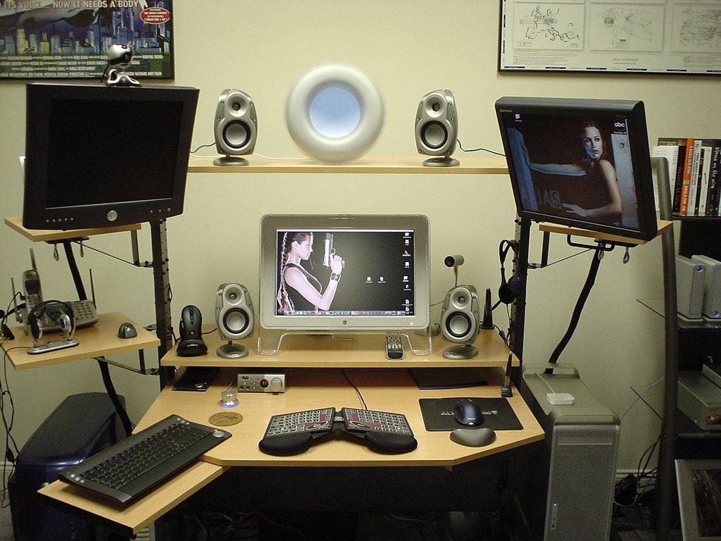 Multimedia Computer Setup Inspirations