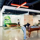 New AOL Creative Office Pool and Lounge
