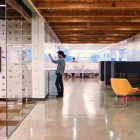 New AOL Creative Office With Glass Partition