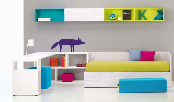 Bright Furniture And Cool Kids Room Designs Ideas Bedroom Design Ideas Interior Design Ideas