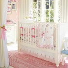 Beautiful Pink Baby Crib Design Ideas