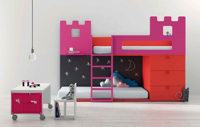 Bright Furniture And Cool Kids Room Designs Ideas