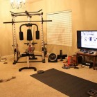 Private Gym in Living Room Ideas