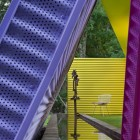 Purple and Blue Wall Decor Shelter Island Pavilion