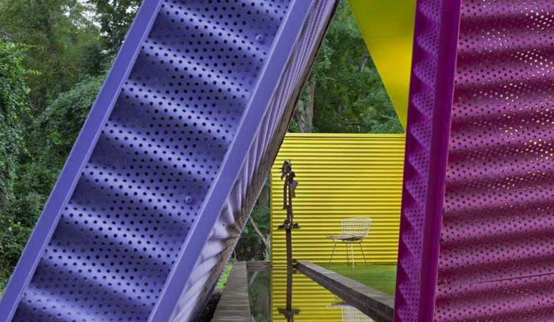 Purple and Blue Wall Decor Shelter Island Pavilion
