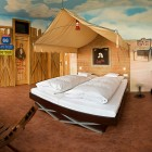 Route66 Hotel Theme Bedroom