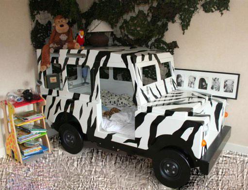 Safari Jeep Beds for Boys