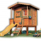 Stage Playhose with Children's Slide
