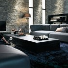 Textured Walls Luxury Living Room Design