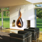 The New Fireplace Flame Design