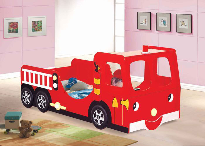 Unique Fire Truck Beds for Kids