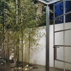 Urban Garden with Tiled floor and Bamboo
