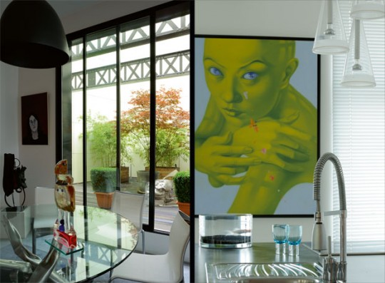 Urban Posters in Remodeling Loft