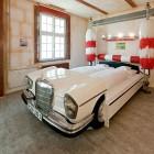 V8 Hotel Car Wash Bedroom Design