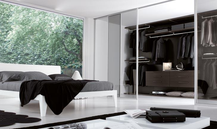 Walk In Wardrobe Open Inspiration In Small Bedroom