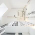 White Minimalistic Hotel Room