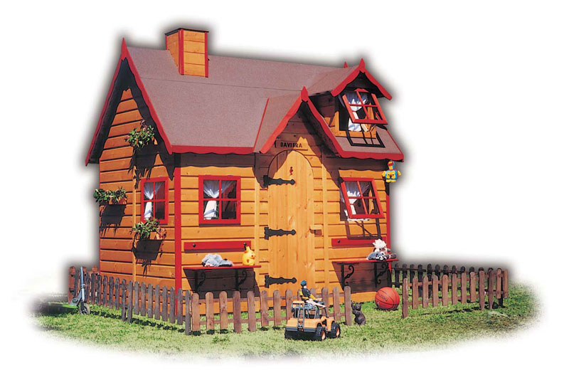 Wood Children's Play House