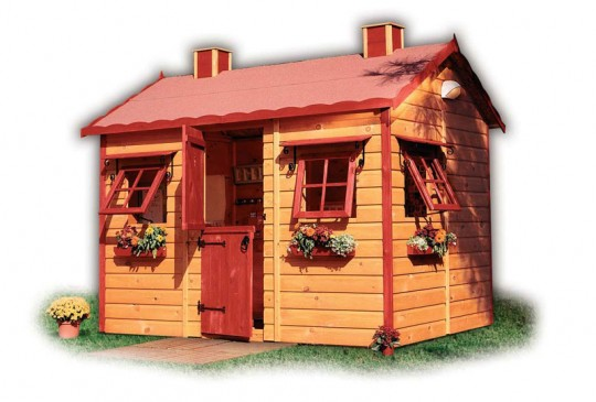 Wood Playhouse Design Ideas