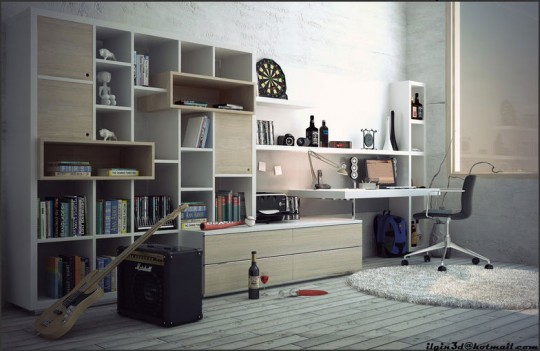 Young Room Workspaces Music Room Inspiration