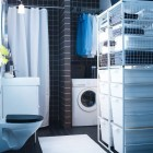 2012 IKEA Laundry Storage in Small Room
