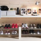 2012 Wooden IKEA Shoe Rack Organization Ideas