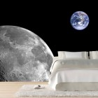 Amazing Space Sticker Wallpaper for Bedroom