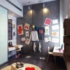 Artist Kids Room with Spot Lamp Ideas