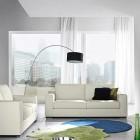 Beautiful Blue Walls Modern Furniture Sets