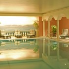 Beautiful Cream Indoor Pool Color Ideas