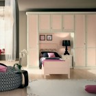 Beautiful Girls Bedroom With Pink Classic Furniture Ideas
