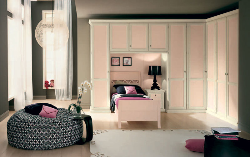 Beautiful girls bedroom with pink classic furniture ideas interior design ideas - Beautiful bedrooms for girls ...