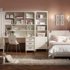 Beautiful Students Bedroom Furniture with Wooden Floor