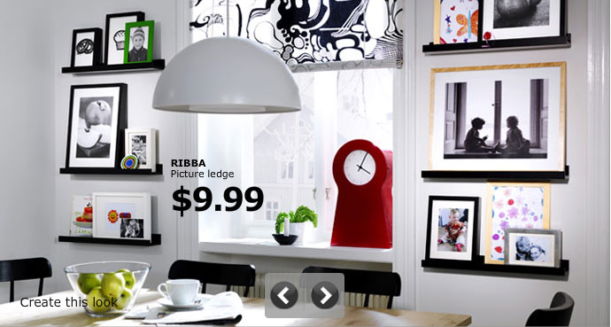 Beautiful White Dining Room with Flexibel IKEA Photo Gallery