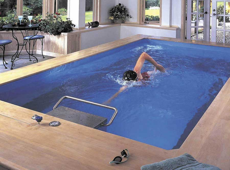 Blue Endless Pools Design Inspirations