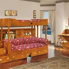 Classic Bunk Bed for Kids with Sea Themed Ideas