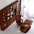 Classic Home Office Decor with Luxury Furniture