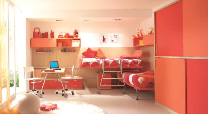 Comfort Bedroom Ideas for Two Children