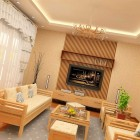 Contemporary Living Room Beige Color by Nguyen