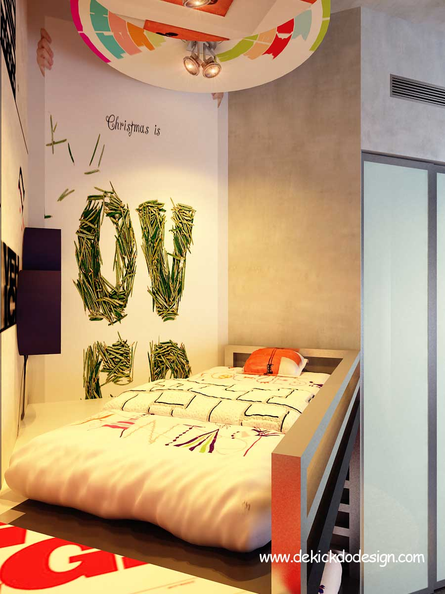 Corner Bunk Beds Urban Design for Teen