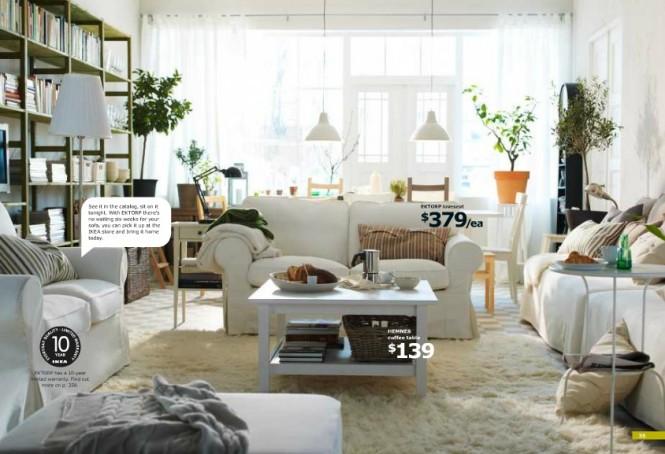 Cozines IKEA Living Room Decor 2012
