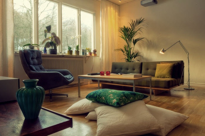 Cozy Sweden Living Space Design Inspirations