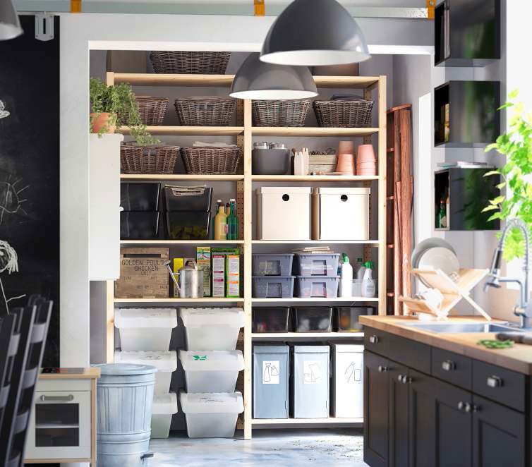 Creative Ikea Kitchen Storage Organization Ideas 2012
