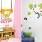 Creative Kids Wall Stickers Decorations Ideas