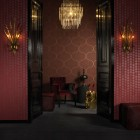 Dark Maroon Exotic Wallpaper 2011