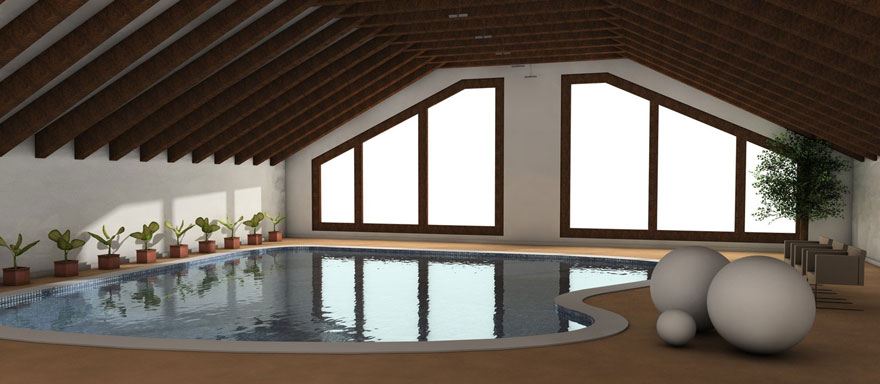 Elegant Indoor Pool Ideas
